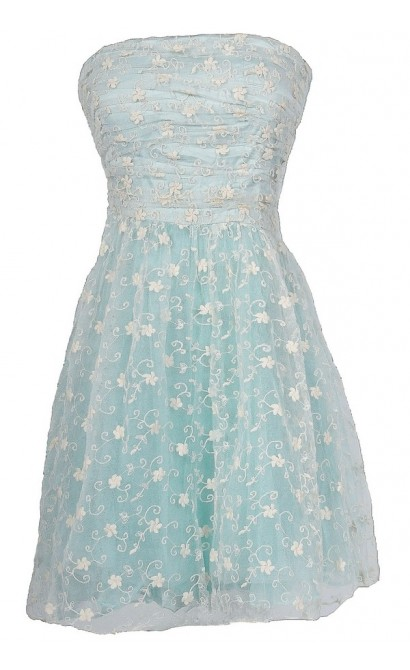 Cloud Fairy Embroidered Tulle Designer Dress