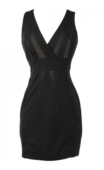 Noir Desir Crossover Designer Dress