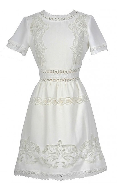 Prairie Angel Dress In Ivory