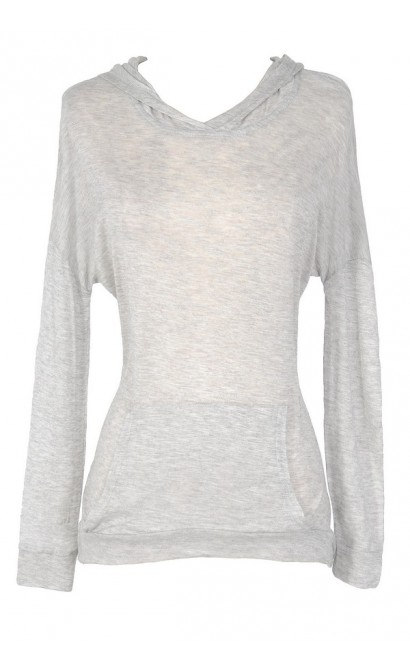 Perfect Pocket Semi-sheer Lounge Hoodie