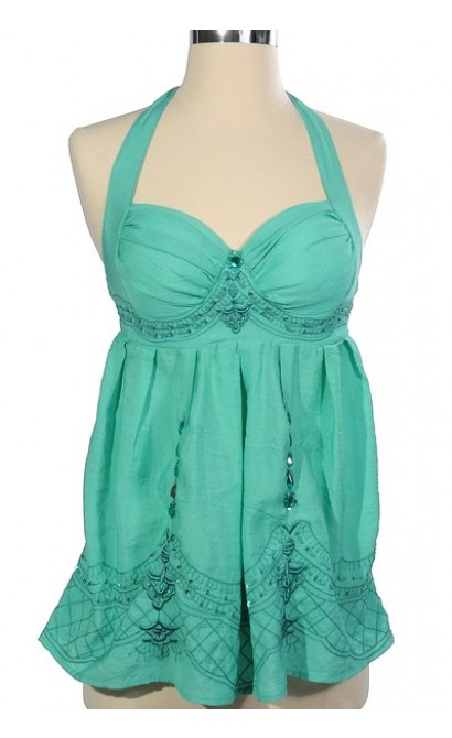 Moroccan Mystery Top in Jade