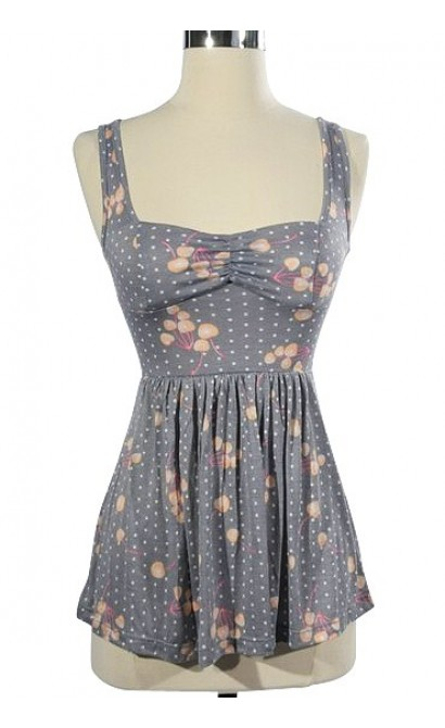 1950's Retro Rockabilly Top