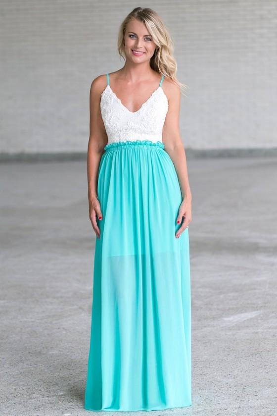 Jade Open Back Maxi Dress, Cute Juniors