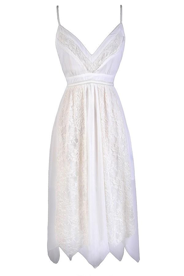 White Asymetrical Dress White Fairy Dress Fairy Style