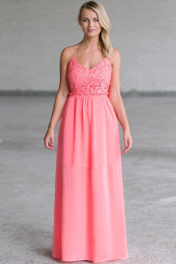 Pink Dresses | Blush Pink and Fuschia Party Dresses for Women | Lily ...