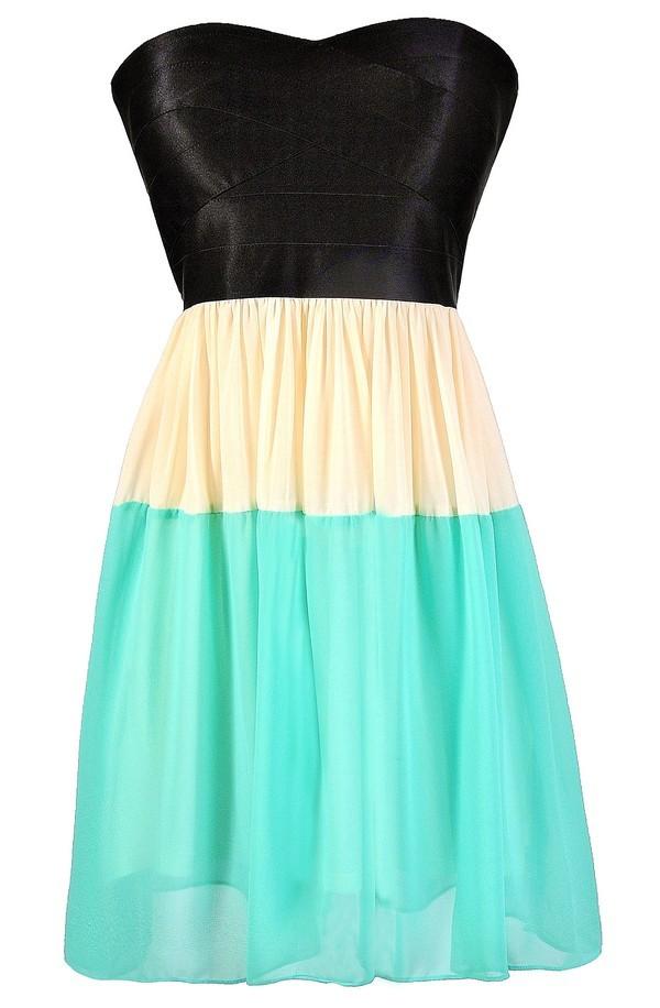 Lily Boutique Colorblock Dress Cute Colorblock Dress Colorblock ...