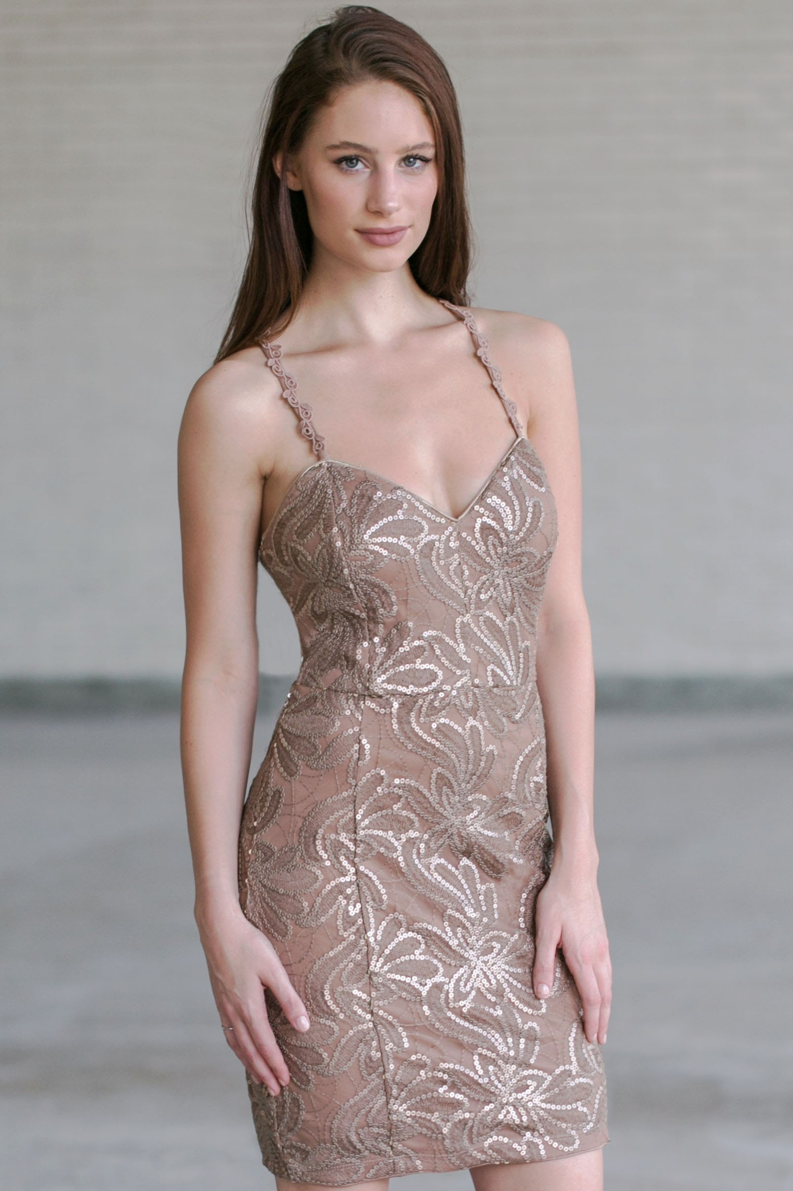 a1b32642b Brown Dresses for Women | Cute Taupe & Mocha Party Dresses | Lily ...