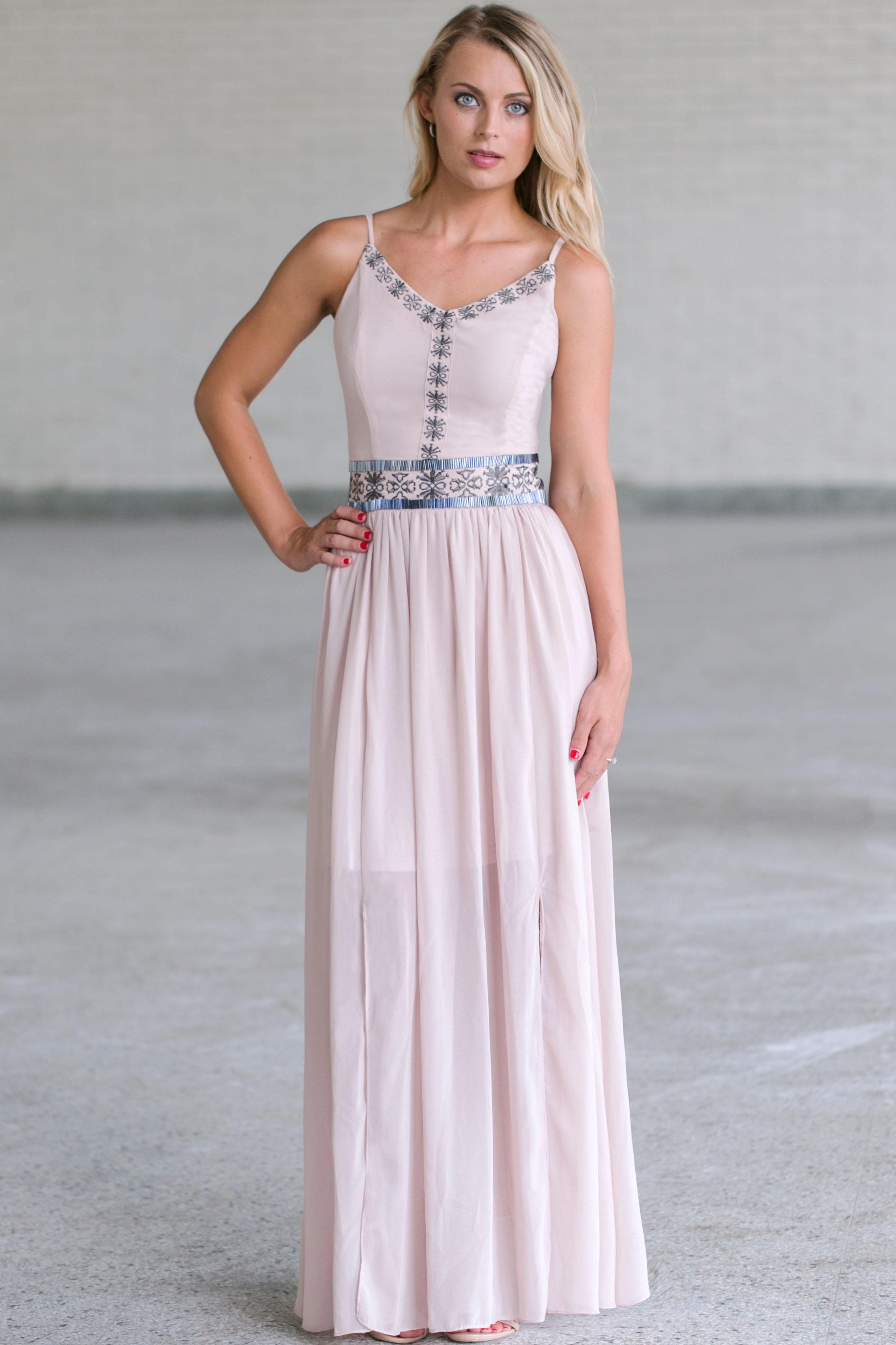 2bdcd466859 Cute Summer Maxi Dress