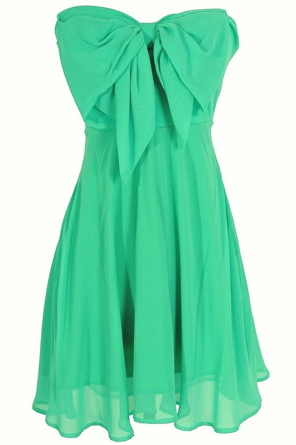 Oversized bow chiffon dress in jade lily boutique for 31 twenty five boutique