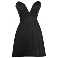 Cute Black Dress, Little Black Dress, Black Party Dress, Black Cocktail Dress