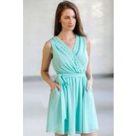 Pocket Full of Sunshine Dress in Mint