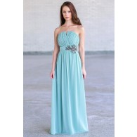 Sage Green Maxi Bridesmaid Dress
