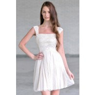 Lace and Tulle Off the Shoulder Dress, Cute Summer Dress, Party Dress