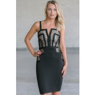 Black Bandage Dress Online, Little Black Cocktail Dress, Juniors Dress Online