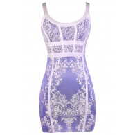 Purple and White Dress, Purple Party Dress, Purple and White Bodycon Dress, Purple and White Cocktail Dress, Purple and White Summer Dress, Purple Summer Dress, Purple Party Dress