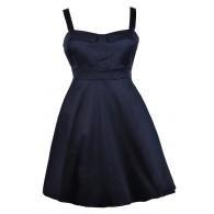 Cute Plus Size Dress, Plus Size Party Dress, Navy Plus Size Dress, Plus Size Cocktail Dress, Plus Size Sundress, Plus Size A-Line Dress, Plus Size Bridesmaid Dress, Navy Plus Size Bridesmaid Dress