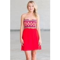 Southwestern Chic Belted Dress