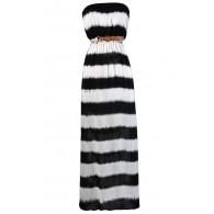 Cute Tie Dye Dress, Tie Dye Maxi Dress, Black and White Maxi Dress, Black and Ivory Tie Dye Dress, Cute Summer Dress, Black and White Maxi Dress
