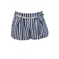 Navy and White Stripe Shorts, Nautical Stripe Shorts, Cute Stripe Shorts, Cute Vacation Shorts, Navy and White Shorts, Pinstripe Shorts