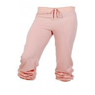 Comfy Scrunch Sweats in Baby Pink