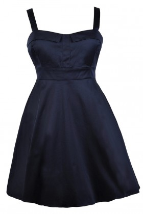 Cute Plus Size Dress, Plus Size Party Dress, Navy Plus Size Dress, Plus Size Cocktail Dress, Plus Size Sundress, Plus Size A-Line Dress, Plus Size Bridesmaid Dress, Navy Plus Size Bridesmaid Dress