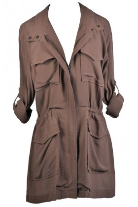 Cute Brown Fall Jacket