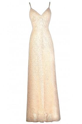 Pale Pink Lace Maxi Dress, Cute Pink Dress, Pink Lily Boutique Dress