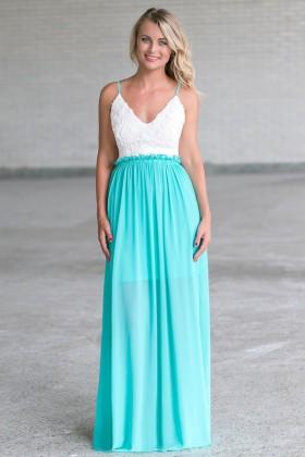 Jade Open Back Maxi Dress Online, Cute Juniors Dress