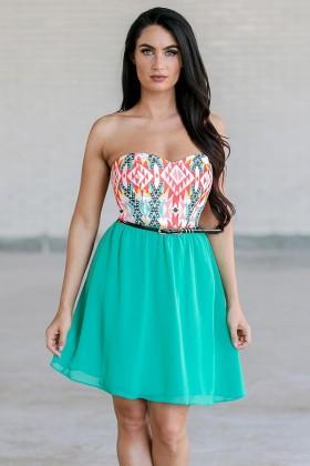Albuquerque Allure Belted Dress