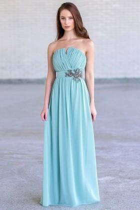 Sage Green Maxi Bridesmaid Dress