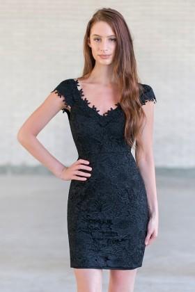 Black lace dress, Little black Dress, black cocktail dress