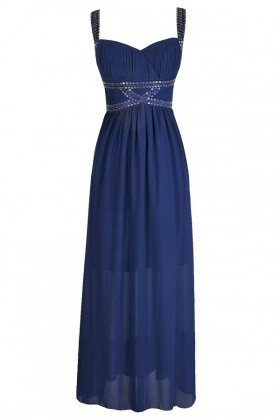 Blue Maxi Dress, Bright Blue Dress, Bright Blue Prom Dress, Cute Prom Dress, Bright Blue Formal Dress, Blue Formal Dress, Royal Blue Maxi Dress, Beaded Blue Maxi Dress, Embellished Blue Maxi Dress