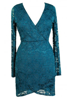 Cute Plus Size Dress, Teal Plus Size Dress, Lace Plus Size Dress, Teal Lace Plus Size Dress, Plus Size Party Dress, Plus Size Cocktail Dress