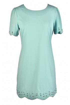 Cute Blue Dress, Blue Shift Dress, Pale Blue Shift Dress, Sky Blue Shift Dress, Light Blue Shift Dress, Cute Summer Dress, Blue Summer Dress