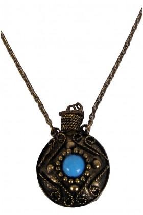 Stone Canteen Necklace, Boho Jewelry