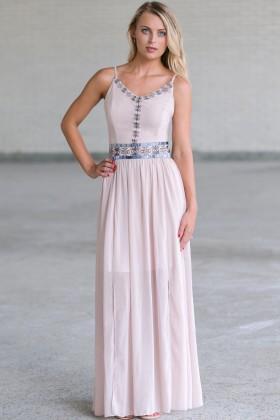 Cute Summer Maxi Dress, Embroidered Maxi Dress Online, Cute Juniors Dress Online