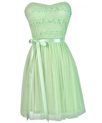 Mint Lime Summer Dress, Mint Lime Party Dress, Mint Lime A-Line Dress, Cute Summer Dress, Mint Lime Bridesmaid Dress, Cute Mint Lime Dress, Cute Party Dress, Cute Summer Dress