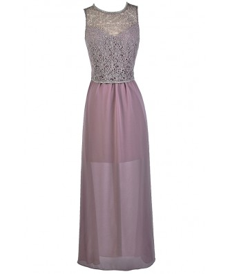 Lace Maxi Dress, Lavender Lace Maxi Dress, Purple Maxi Bridesmaid Dress, Lavender Maxi Bridesmaid Dress, Cute Purple Dress, Purple Prom Dress, Lavender Prom Dress, Purple Lace Formal Dress, Lavender Lace Formal Dress