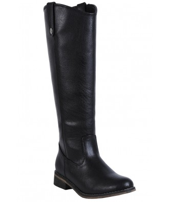 Black Riding Boots, Cute Fall Boots, Cute Black Boots
