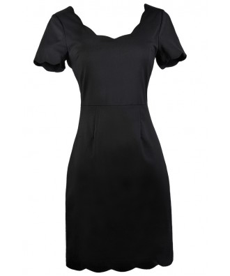 Cute Black Dress, Little Black Dress, Black Pencil Dress