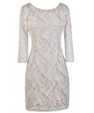 White Sequin Dress, Rehearsal Dinner Dress, Bridal Shower Dress