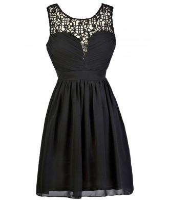 Cute Black Dress, Black Party Dress, Online Boutique Dress