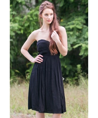 Black Midi Dress Online, Cute Little Black Dress, Black Sundress