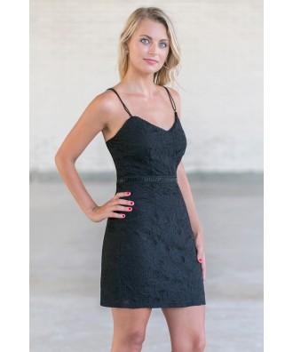 Lily Boutique Black Cocktail Party Dress- Juniors Little Black ...