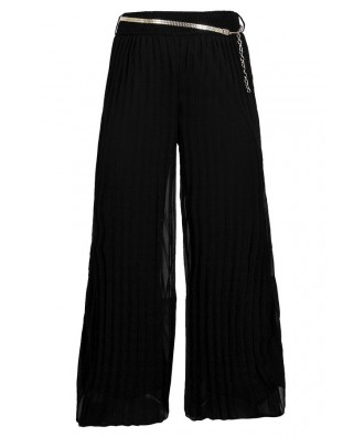 Black Wide Leg Pants