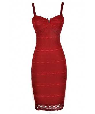 Cute Red Dress, Red Lace Dress, Red Lace Pencil Dress, Red Lace Cocktail Dress, Red Lace Party Dress, Red Lace Pinup Dress, Sexy Red Dress, Sexy Red Lace Dress