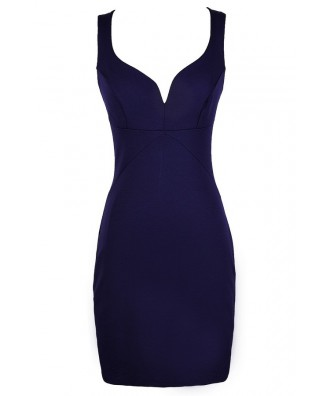 Cute Purple Dress, Purple Cocktail Dress, Purple Party Dress, Purple Bodycon Dress, Purple Fitted Dress