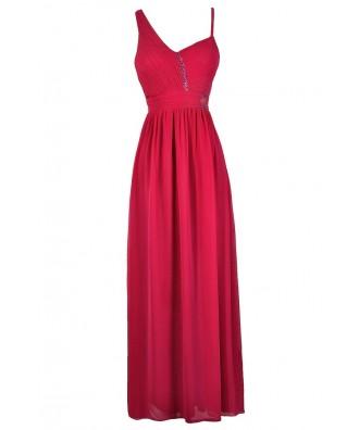 Cute Prom Dress, Bright Pink Prom Dress, Bright Pink Maxi Dress, Bright Pink Formal Dress, Hot Pink Prom Dress, Hot Pink Maxi Dress, Hot Pink Formal Dress, Embellished Pink Prom Dress, Embellished Hot Pink Maxi Dress, Cute Prom Dress