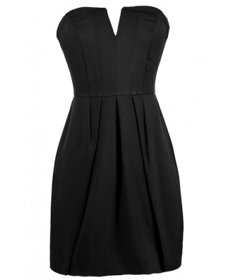 Little Black Dress, Cute Black Dress, Black Strapless Dress, Black Party Dress, Black Cocktail Dress, Black Juniors Dress, Sexy Black Dress, Short Black Dress