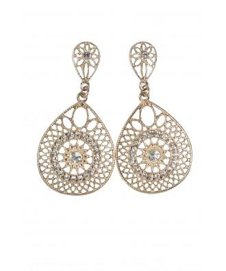 Cute Gold Earrings, Gold Dangle Earrings, Gold Jewelry Online